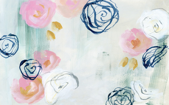 Pink-Florals