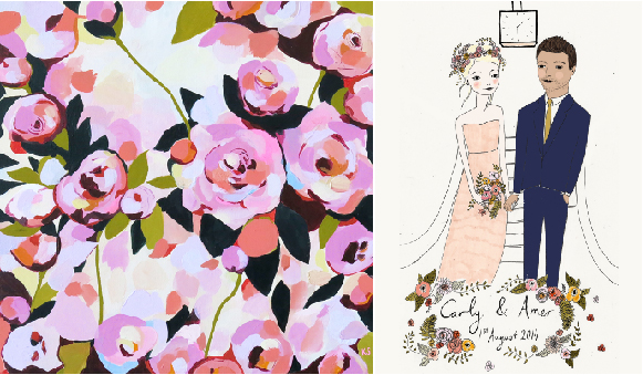Illustrations & Wallpapers by KT Smail